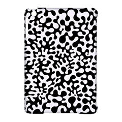 Black And White Blots Apple Ipad Mini Hardshell Case (compatible With Smart Cover) by KirstenStar