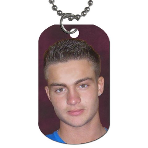 Jovan Nikic  By Dusan Nikic   Dog Tag (one Side)   Ifn2pdqghoqm   Www Artscow Com Front