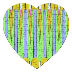 Spikes Jigsaw Puzzle (heart) by LalyLauraFLM
