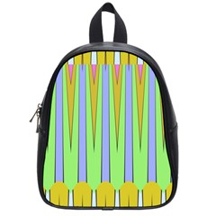Spikes School Bag (small) by LalyLauraFLM