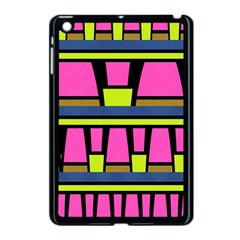 Trapeze And Stripes Apple Ipad Mini Case (black) by LalyLauraFLM