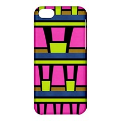 Trapeze And Stripes Apple Iphone 5c Hardshell Case by LalyLauraFLM