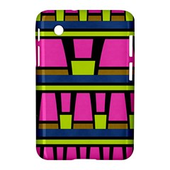 Trapeze And Stripes Samsung Galaxy Tab 2 (7 ) P3100 Hardshell Case  by LalyLauraFLM