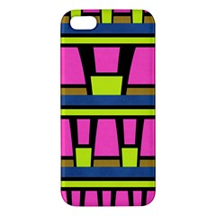 Trapeze And Stripes Iphone 5s Premium Hardshell Case by LalyLauraFLM
