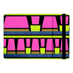 Trapeze And Stripes	samsung Galaxy Tab Pro 10 1  Flip Case by LalyLauraFLM