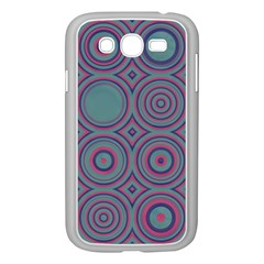 Shapes In Retro Colors Samsung Galaxy Grand Duos I9082 Case (white) by LalyLauraFLM