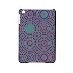 Shapes in retro colors Apple iPad Mini 2 Hardshell Case by LalyLauraFLM