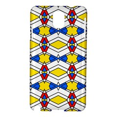 Colorful rhombus chains Samsung Galaxy Note 3 N9005 Hardshell Case by LalyLauraFLM