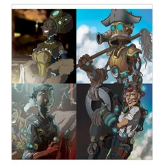Captains Wager By Ray Dana   Drawstring Pouch (large)   I9mareccq27a   Www Artscow Com Back