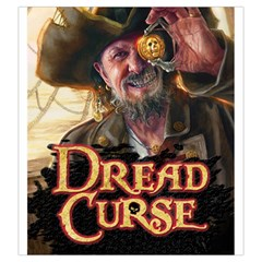 Dread Curse By Ray Dana   Drawstring Pouch (large)   T9rdmtrtma1p   Www Artscow Com Front