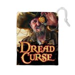 dread curse - Drawstring Pouch (Large)