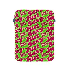 Just Sexy Quote Typographic Pattern Apple Ipad 2/3/4 Protective Soft Cases by dflcprints