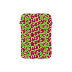 Just Sexy Quote Typographic Pattern Apple Ipad Mini Protective Soft Cases by dflcprints