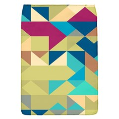 Scattered Pieces In Retro Colors Removable Flap Cover (s) by LalyLauraFLM