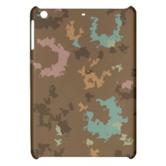 Paint Strokes In Retro Colors Apple Ipad Mini Hardshell Case by LalyLauraFLM