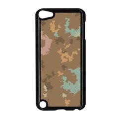 Paint Strokes In Retro Colors Apple Ipod Touch 5 Case (black) by LalyLauraFLM
