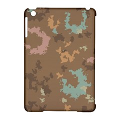 Paint strokes in retro colors Apple iPad Mini Hardshell Case (Compatible with Smart Cover) by LalyLauraFLM