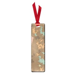 Paint Strokes In Retro Colors Small Book Mark by LalyLauraFLM