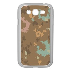 Paint Strokes In Retro Colors Samsung Galaxy Grand Duos I9082 Case (white) by LalyLauraFLM