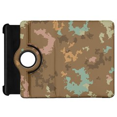 Paint strokes in retro colorsKindle Fire HD Flip 360 Case by LalyLauraFLM