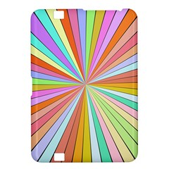 Colorful Beams Kindle Fire Hd 8 9  Hardshell Case by LalyLauraFLM