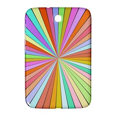 Colorful Beams Samsung Galaxy Note 8 0 N5100 Hardshell Case  by LalyLauraFLM