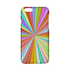 Colorful Beams Apple Iphone 6 Hardshell Case