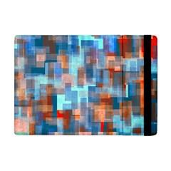 Blue Orange Watercolors Apple Ipad Mini Flip Case by LalyLauraFLM