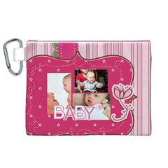 Baby By Baby   Canvas Cosmetic Bag (xl)   6rx2x7xaeoaj   Www Artscow Com Front