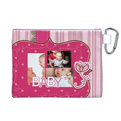 Baby By Baby   Canvas Cosmetic Bag (xl)   6rx2x7xaeoaj   Www Artscow Com Back