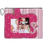 baby - Canvas Cosmetic Bag (XXXL)