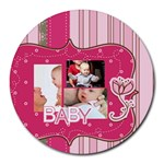 baby - Round Mousepad