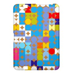Circles And Rhombus Pattern Kindle Fire Hd 8 9  Hardshell Case by LalyLauraFLM