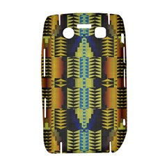 Triangles and other shapes pattern BlackBerry Bold 9700 Hardshell Case  by LalyLauraFLM