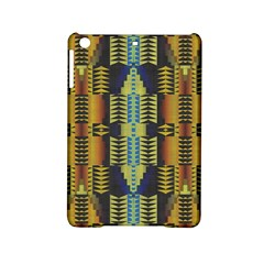 Triangles And Other Shapes Pattern Apple Ipad Mini 2 Hardshell Case by LalyLauraFLM