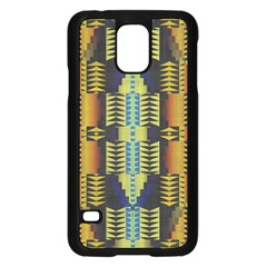 Triangles And Other Shapes Patternsamsung Galaxy S5 Case by LalyLauraFLM