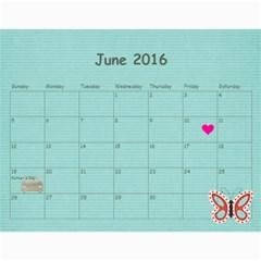 Groth 2016 By Heidi Groth   Wall Calendar 11  X 8 5  (12 Months)   Xgio51w8dhml   Www Artscow Com Jun 2016