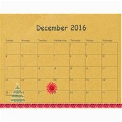 Groth 2016 By Heidi Groth   Wall Calendar 11  X 8 5  (12 Months)   Xgio51w8dhml   Www Artscow Com Dec 2016