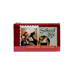 Back To School By School   Cosmetic Bag (xs)   08fjej15yj0g   Www Artscow Com Front