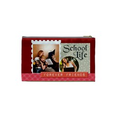 Back To School By School   Cosmetic Bag (xs)   08fjej15yj0g   Www Artscow Com Back
