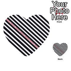 Selina Zebra Multi Purpose Cards (heart)