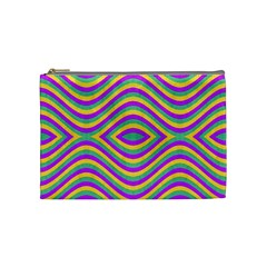 Vintage Geometric  Cosmetic Bag (medium)  by dflcprints