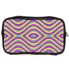 Vintage Geometric  Toiletries Bags by dflcprints