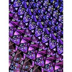 Blue Purple Shattered Glass Magic Photo Cubes
