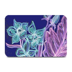 Purple, Pink Aqua Flower Style Plate Mats by Contest1918526