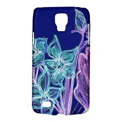 Purple, Pink Aqua Flower Style Galaxy S4 Active by Contest1918526