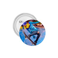 Skateboarding On Water 1 75  Buttons by icarusismartdesigns
