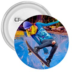 Skateboarding On Water 3  Buttons by icarusismartdesigns