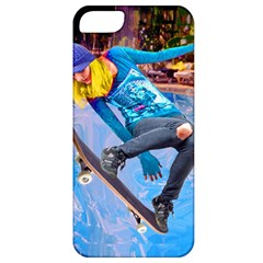 Skateboarding On Water Apple Iphone 5 Classic Hardshell Case by icarusismartdesigns