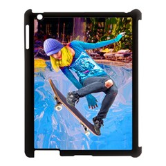 Skateboarding On Water Apple Ipad 3/4 Case (black) by icarusismartdesigns